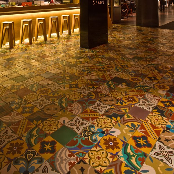 Restaurant Flooring Terrazzo tile