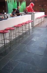 flooring in restaurant