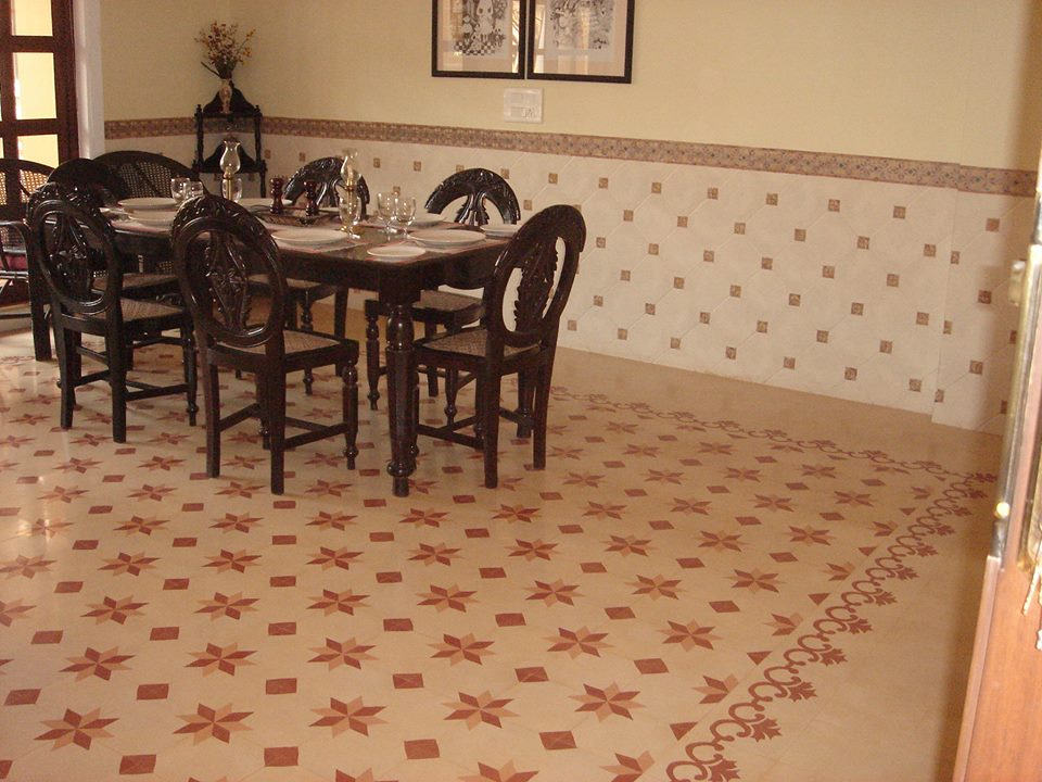 Restaurant terrazzo Flooring tile supplier in delhi