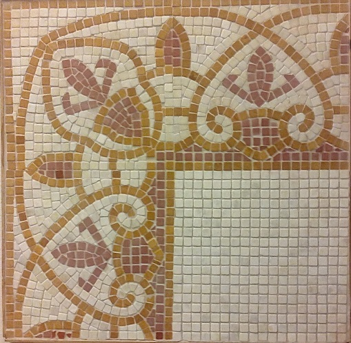 stone mosaic flooring