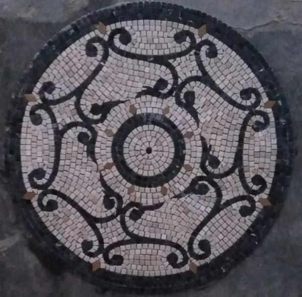 Mosaic Medallion Flooring