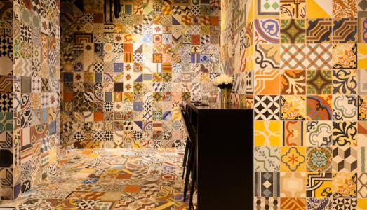 restaurant tiles in delhi