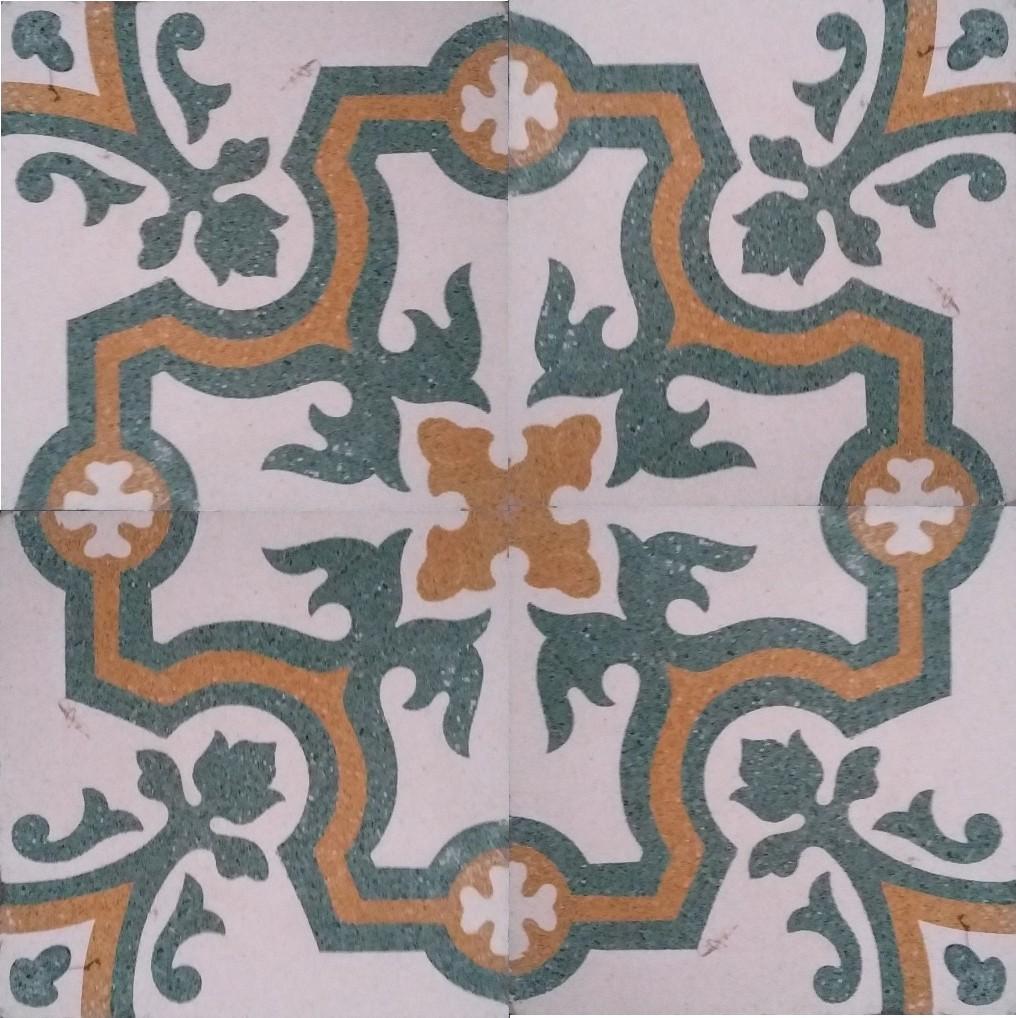 Cement Terrazzo Tiles Heritage Cement Tile In Delhi