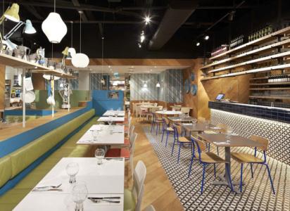 restaurant flooring in delhi