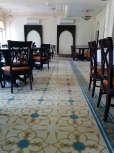 terrazzo restaurant flooring in delhi