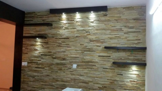 living room wall cladding