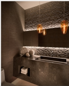 brown color 3d wall cladding tile suppler in delhi