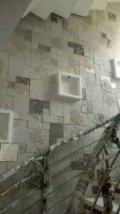 double height wall cladding tile