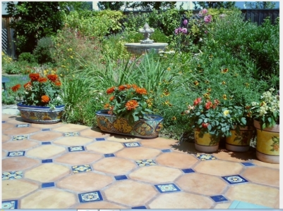 terracotta terrace flooring stone paver supplier in delhi