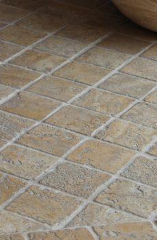 stone paver flooring