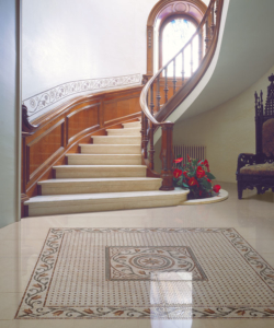 mosaic  foyer flooring supplier in delhi