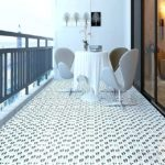 balcony flooring printed tile