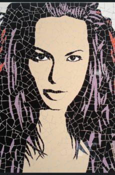 tile crazy pattern women