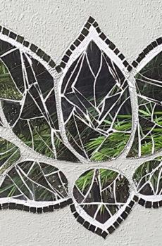 mirror mosaic artwork