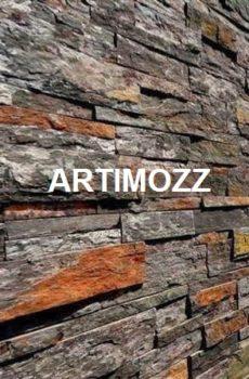 Dark Grey Stone cladding tile