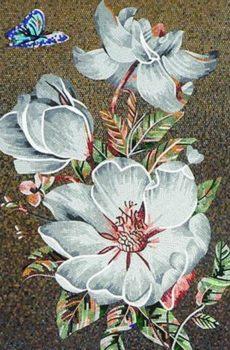 glass mosaic mural work